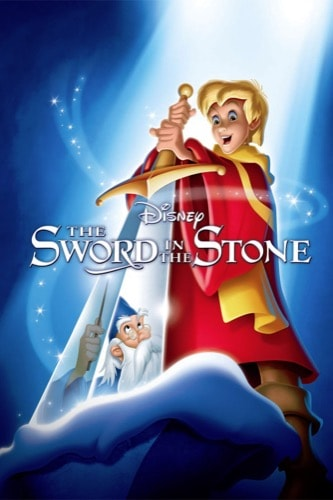 The Sword In The Stone 1963 movie poster