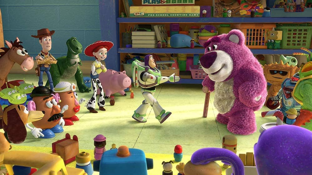Toy Story 3 day care toy introduction