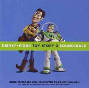 Toy Story 3 soundtrack album cover