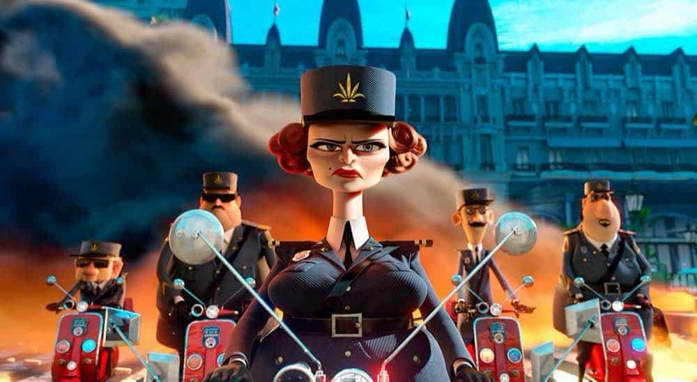 Madagascar 3 Captain Chantal Debois