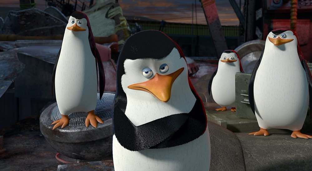 Madagascar 3 penguins