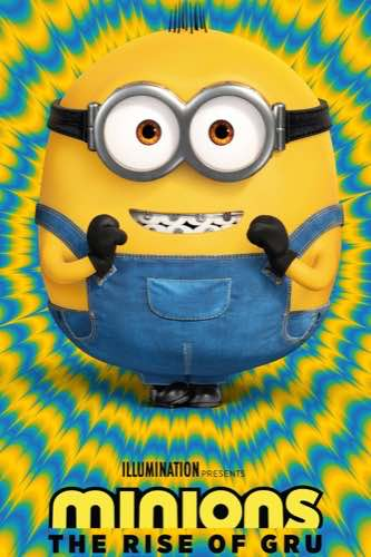 Minions The Rise of Gru 2020 movie poster