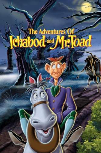 The Adventures of Ichabod and Mr. Toad 1949 movie poster