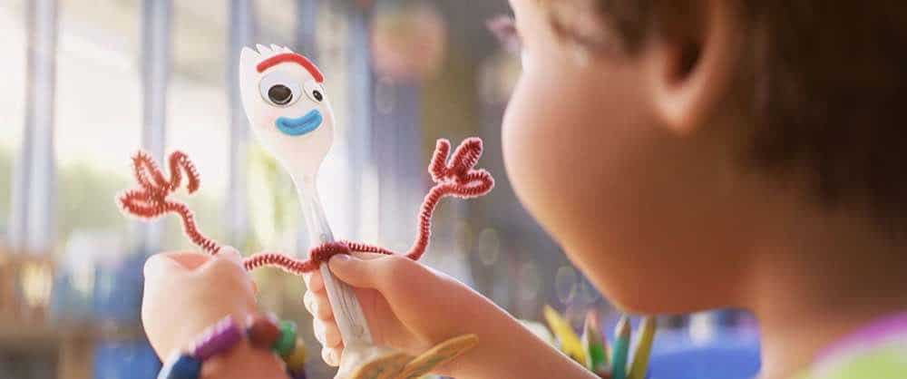 Toy Story 4 Bonnie and Forky
