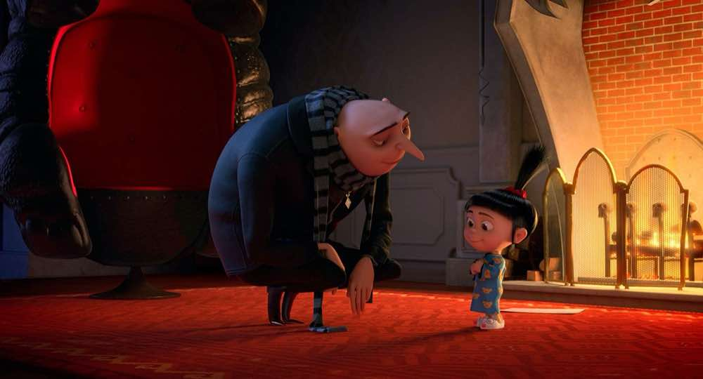 Despicable Me 2 Gru and Agnes