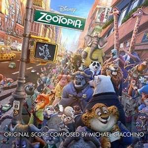 Zootopia soundtrack album cover