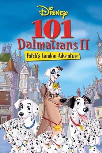 101 Dalmatians 2 Patch's London Adventure 2002 movie poster