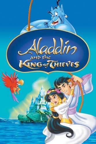 Aladdin and the King of Thieves 1996 movie poster