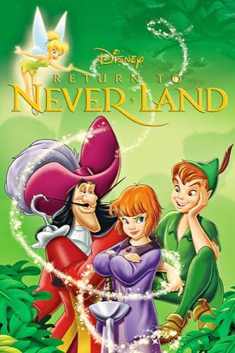 Peter Pan 2 Return to Never Land 2002 movie poster