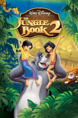 The Jungle Book 2 2003 movie poster