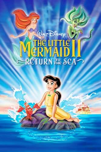 The Little Mermaid 2 Return to the Sea 2000 movie poster
