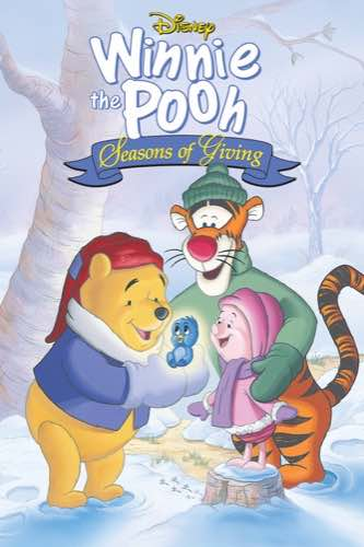 Winnie the Pooh Seasons of Giving 1999 movie poster