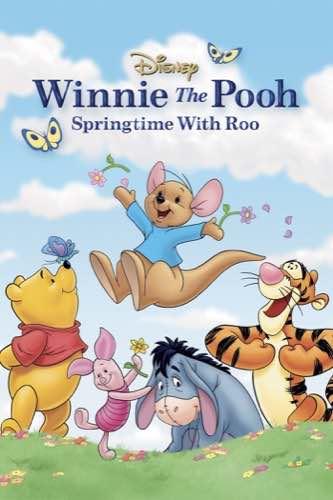 Winnie the Pooh Springtime with Roo 2003 movie poster