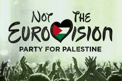 Not the EuroVision - Party for Palestine