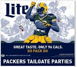 Green Bay Tailgate Party @ Features Sports Bar & Grill