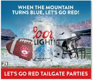 Let's Go Red! Tailgate Party @ Features Sports Bar & Grill