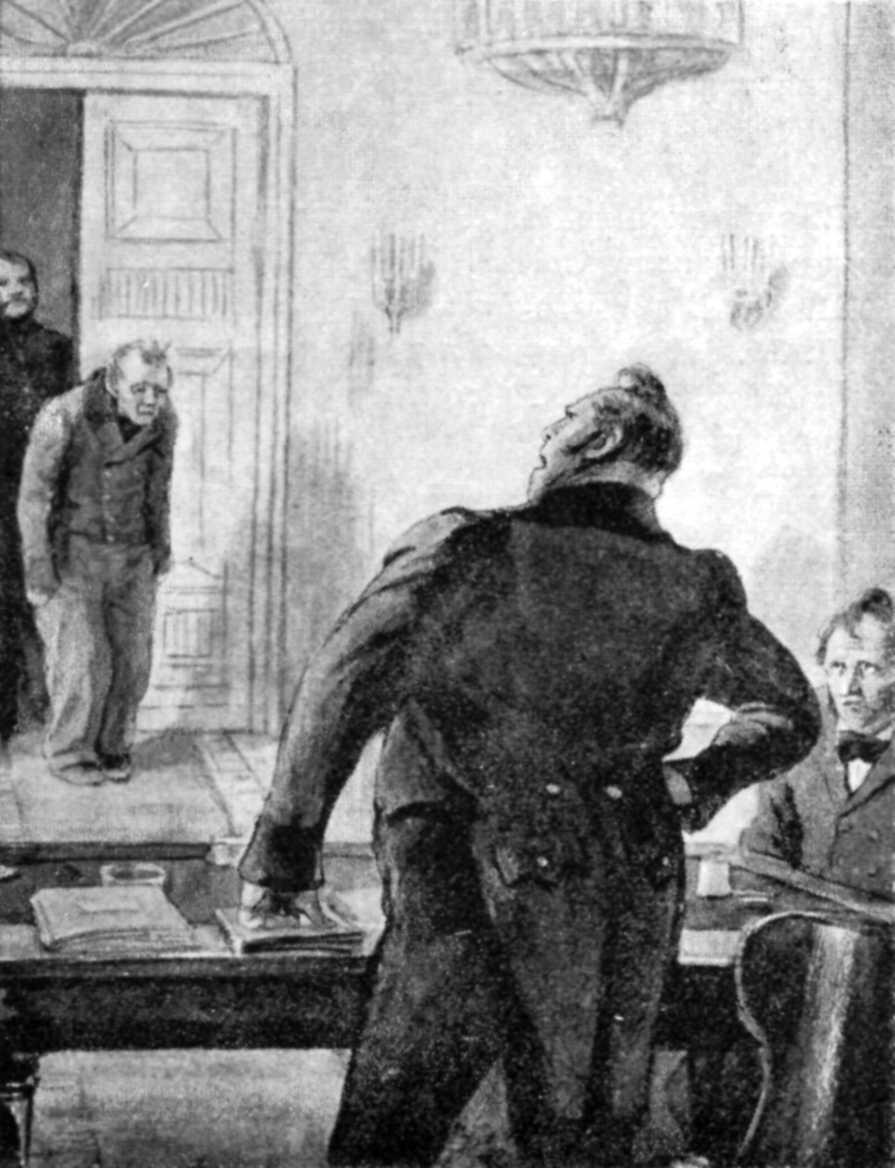 Ilustración de El capote.