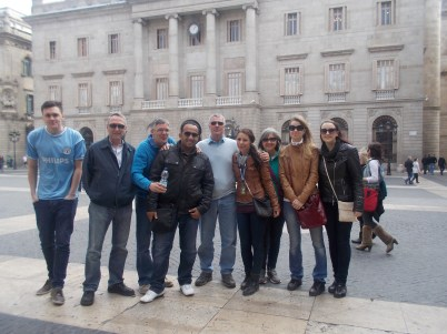 The gang from the first walking tour.