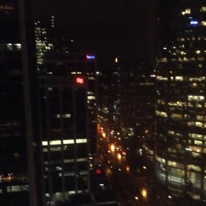 Vancouver after dark