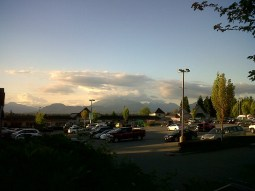 evening walk Walnut Grove