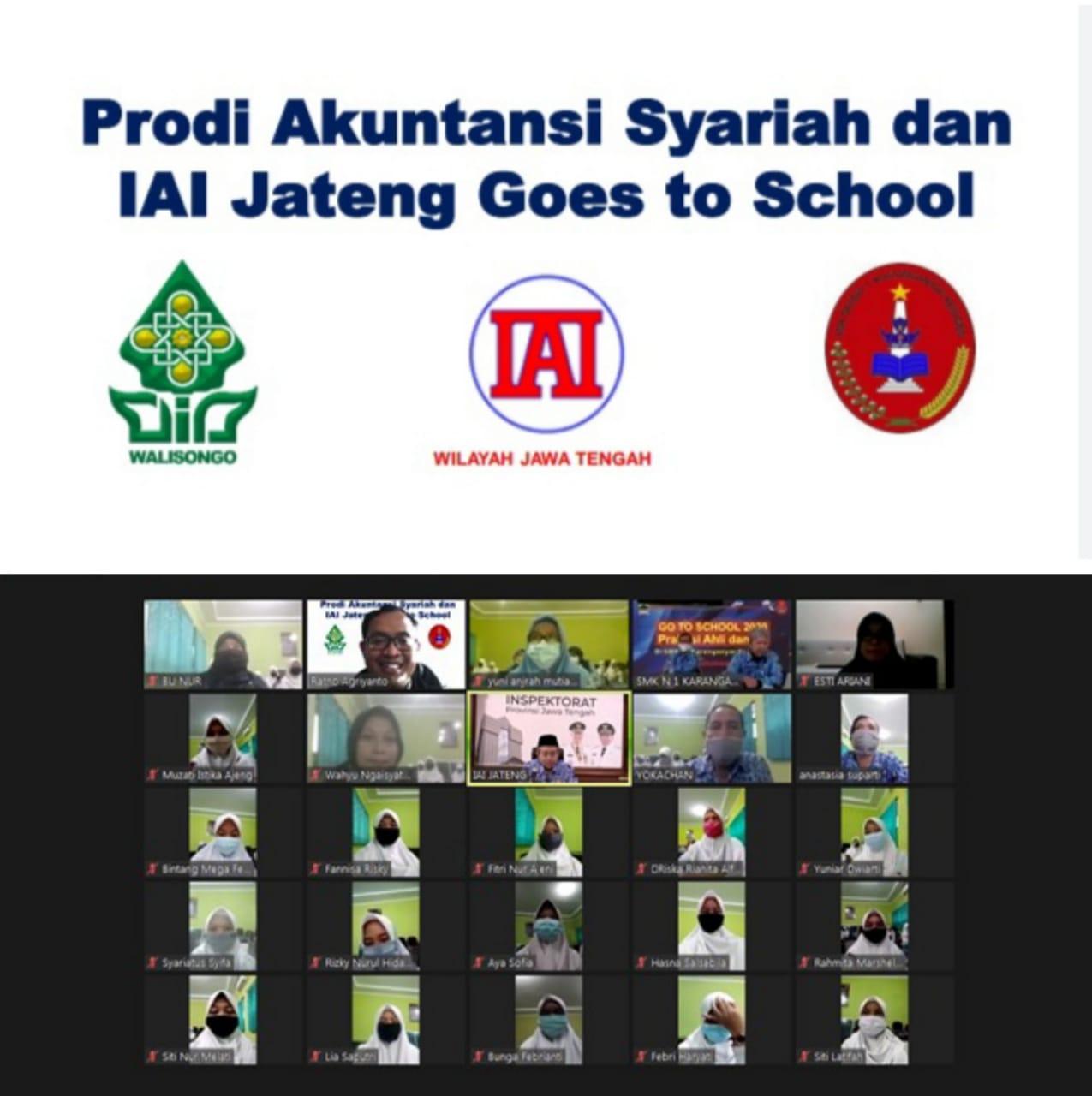 Prodi Akuntansi Syariah FEBI UIN Walisongo dan Ikatan Akuntan Indonesia Goes To School