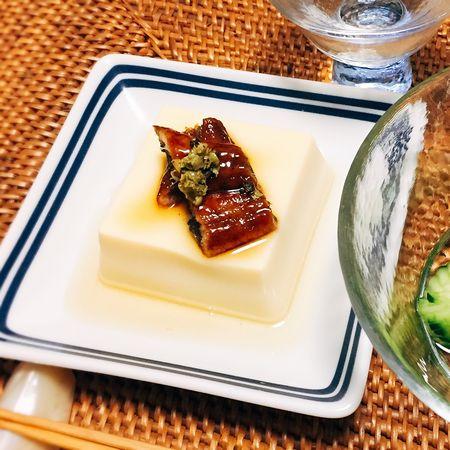 うなぎ玉子豆腐