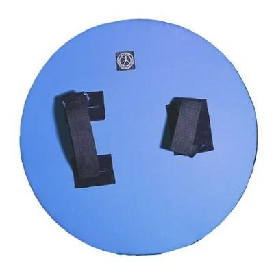Bouclier d'entraînement bleu