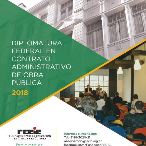 Diplomatura Federal en Contrato Administrativo de Obra Pública