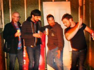 The Bulletproof Tiger. From left: James Norris (drums), Drew Krech (guitar), Corey Temesy (guitar), Joe DiMaio (bass)