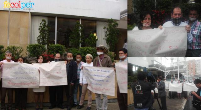 Protesta por desmonte de esquemas de protección a periodistas