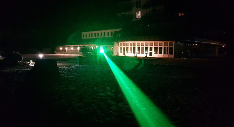 Success!! Laser Reaches 12km on Lake Balaton
