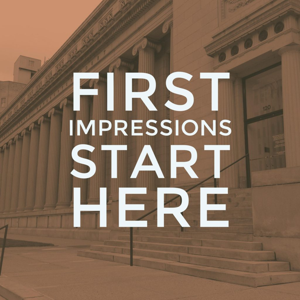 First Impression Your Interview Starts When You Arrive