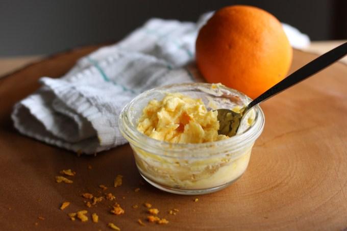 Paleo Irish Soda Bread with Orange Honey Butter