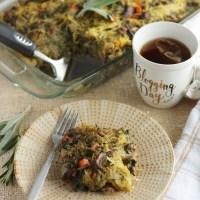 Egg-Free Breakfast Casserole (AIP, Paleo)