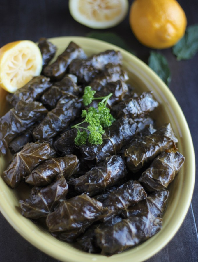 Instant Pot Paleo Stuffed Grape Leaves (AIP)