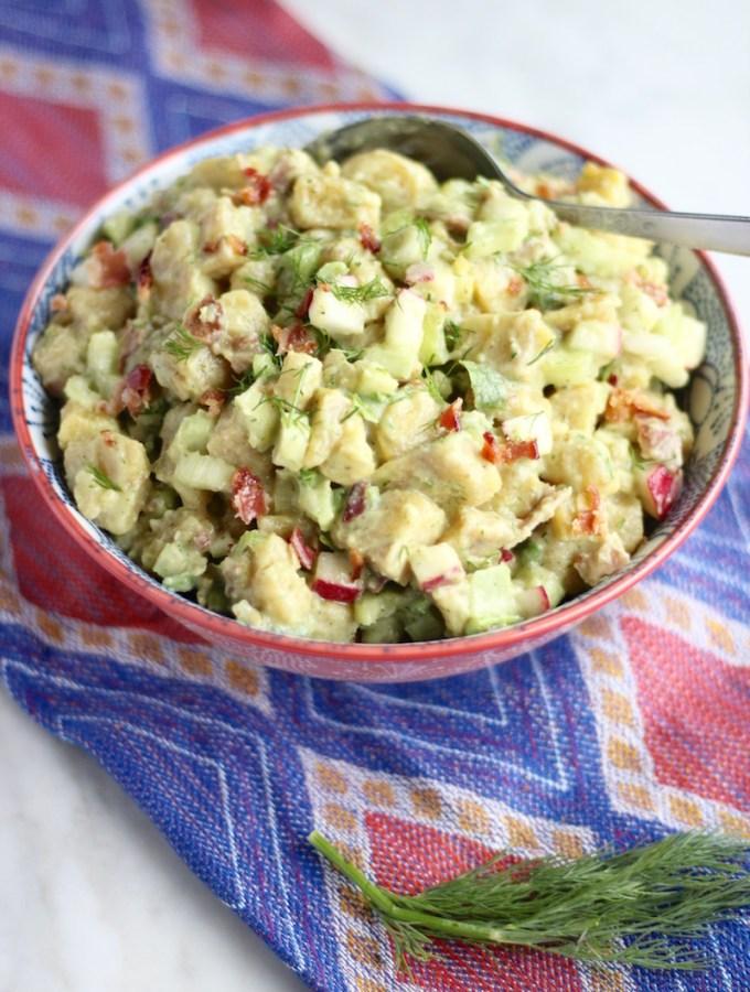"Paleo Plantain ""Potato"" Salad (AIP)"