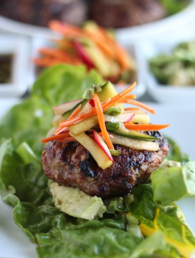 Paleo Pork Banh Mi Burgers (AIP)