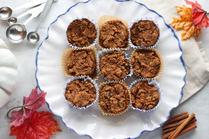 Paleo Pumpkin Spice Muffins (AIP) - healthy, delicious pumpkin muffins are packed with Fall flavors! | fedandfulfilled.com