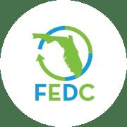 FEDC Leading the way logo