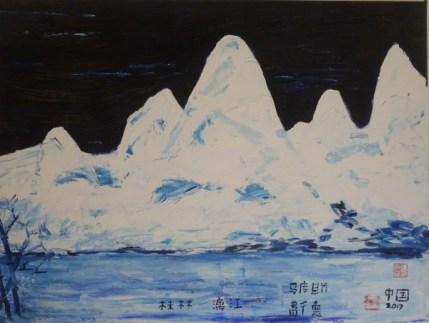 Guilin Oil on canvas 70 x 50 cm 2013