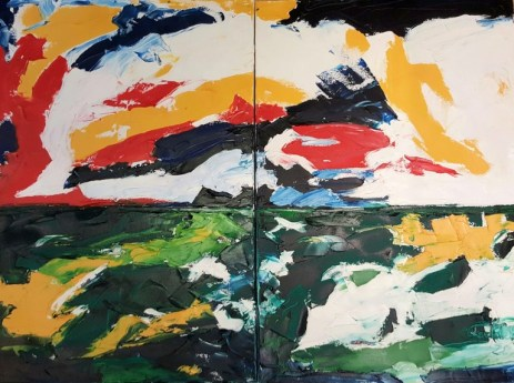 Holland Oil on canvas 140 x 100 cm 2014
