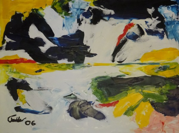 SeaOil on canvas 101 x 76 cm2006
