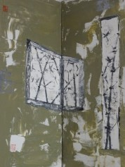 Window Oil on canvas 100 x 60 cm