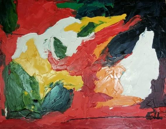 Zhong Guo Oil on canvas 91 x 71 cm 2014