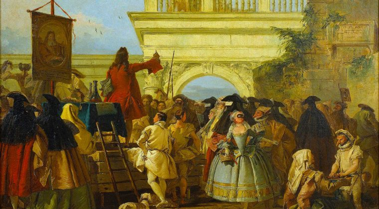 Il ciarlatano, Giovanni Domenico Tiepolo (1756)
