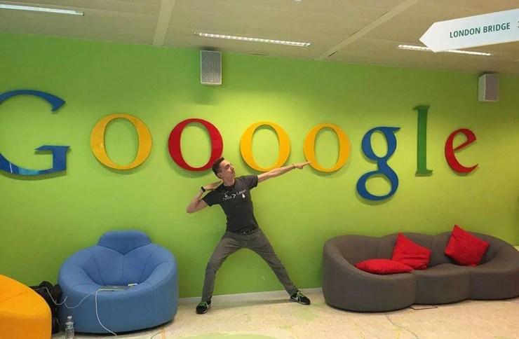 Federico Pistono at Google HQ in Bruxelles