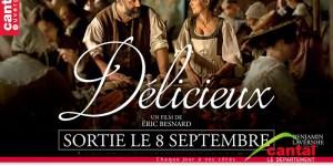 « Délicieux » d'Eric Besnard, avec Gregory Gadebois, Isabelle Carré, Benjamin Lavernhe et Guillaume de Tonquedec sort le 8 septembre au cinéma.