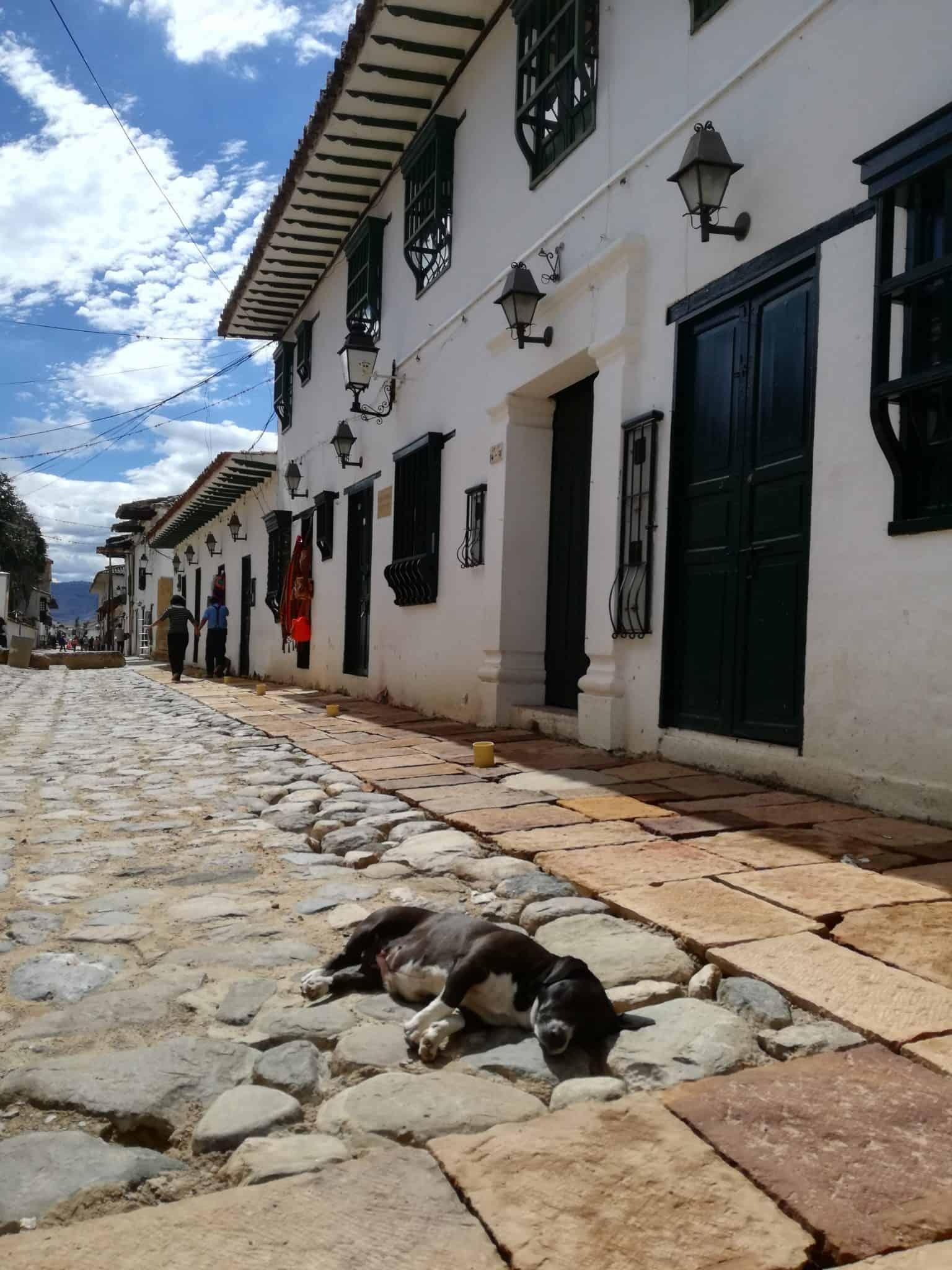 Street in Villa de Leyva