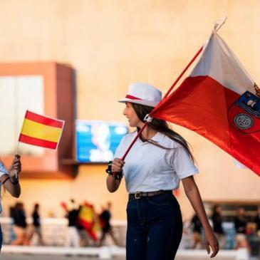 Yaiza Salmón, décima en el Campeonato de España de Doma Clásica Alevín