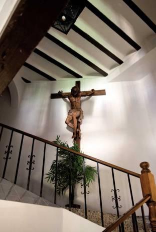 Escalera del Santísimo Cristo.